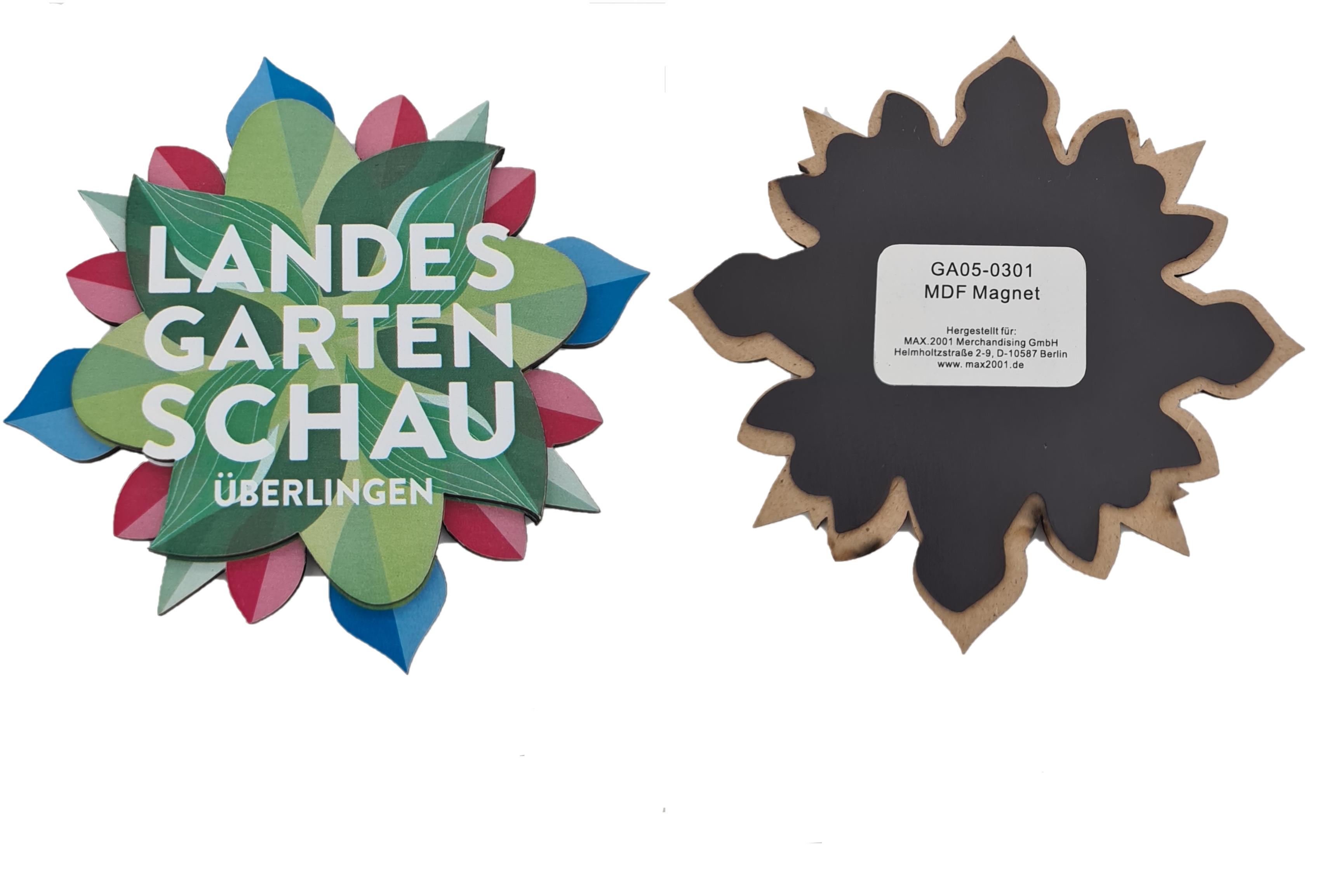 3D Magnet Überlingen Logo